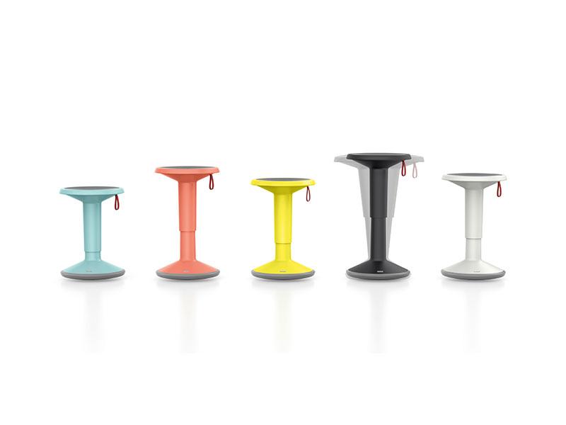 כיסא סטול משרדי רב תכליתי בצבעים שונים
