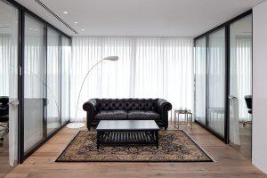מחיצות זכוכית אקוסטיות, מחיצות ניידות למשרד | אינובייט