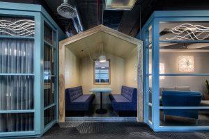 מחיצות פנים אקוסטיות לעיצוב משרדים   אינובייט