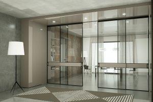 דלתות הזזה - זכוכית הפרדת מרחב, אינובייט