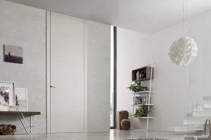 דלתות פתיחה הלבשות עץ - לבן