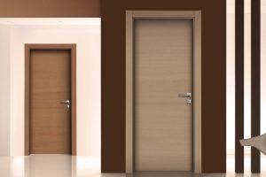 דלתות פתיחה הלבשות עץ - חום אלון