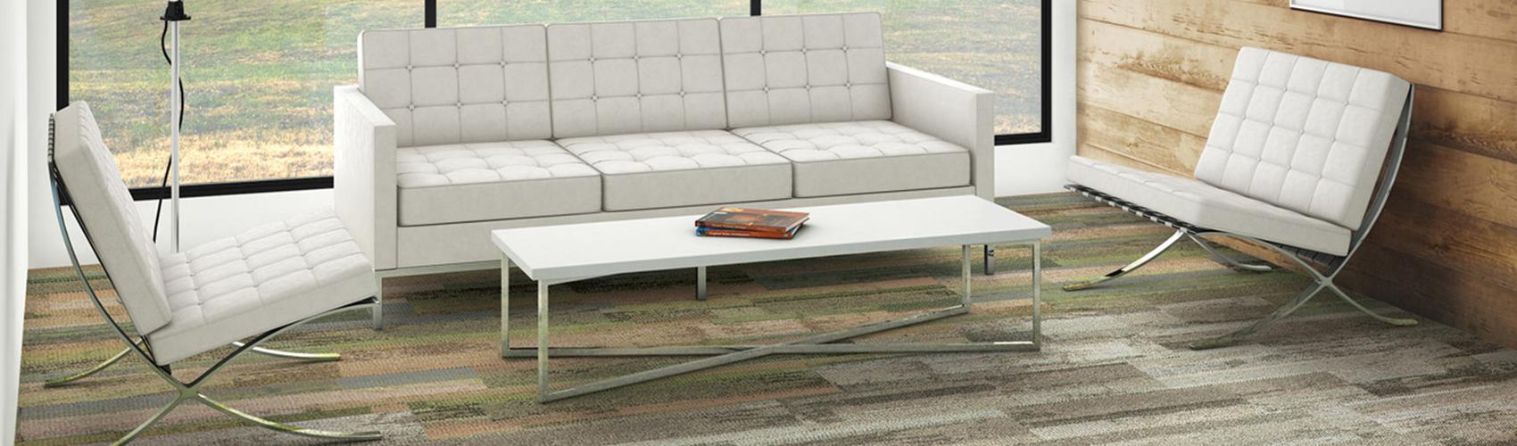 שטיחי אריחים, קולקציית Reclaim מחומרים ממוחזרים   אינובייט