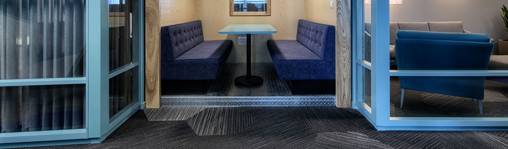 מחיצות אקוסטיות, מחיצות מודולריות לבידוד אקוסטי, לעיצוב חללים למשרדיים - אינובייט