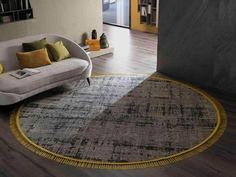 Besana Moquette. שטיח עגול מדהים