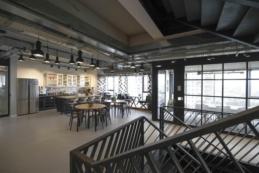 Palo Alto Networks | אדריכלות: סתר אדריכלים בשיתוף עם שירלי זמיר, צלם: כפיר זיו, קבלן: תדהר