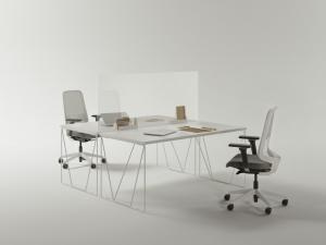 מחיצת הפרדה לשולחן - innovate