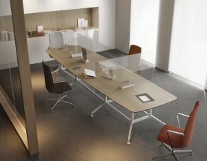 מחיצה שולחן מנהלים - אינובייט