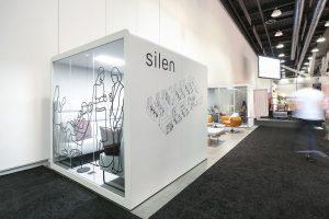 מערכת חללים שקטים ומודולריים של חברת SILEN בשילוב מושלם עם מסנני האוויר של DYSON - אינובייט