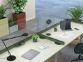 מחיצות שולחן מעוצבות לפי התקן הסגול - אינובייט